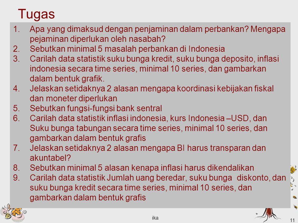 Tugas Apa yang dimaksud dengan penjaminan dalam perbankan Mengapa pejaminan diperlukan oleh nasabah