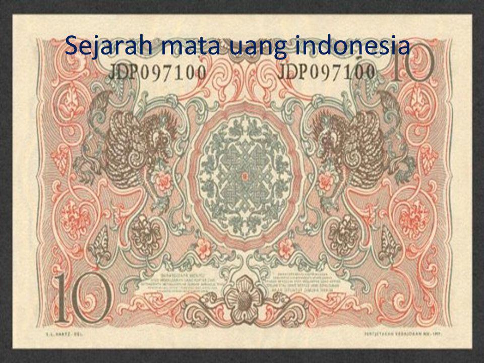 Sejarah mata uang indonesia