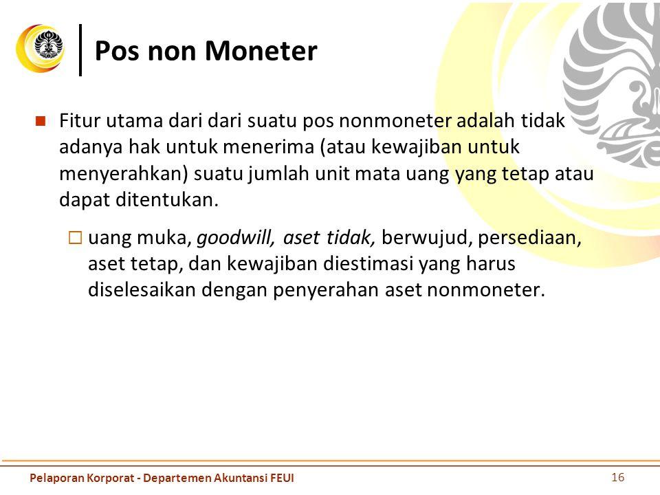 Pos non Moneter