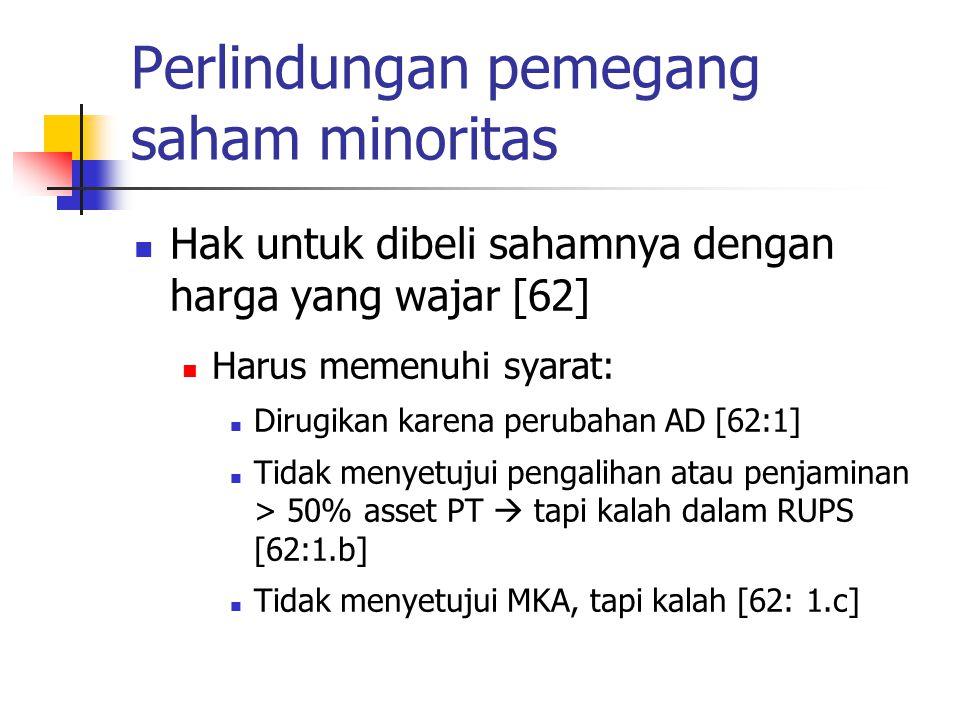Perlindungan pemegang saham minoritas