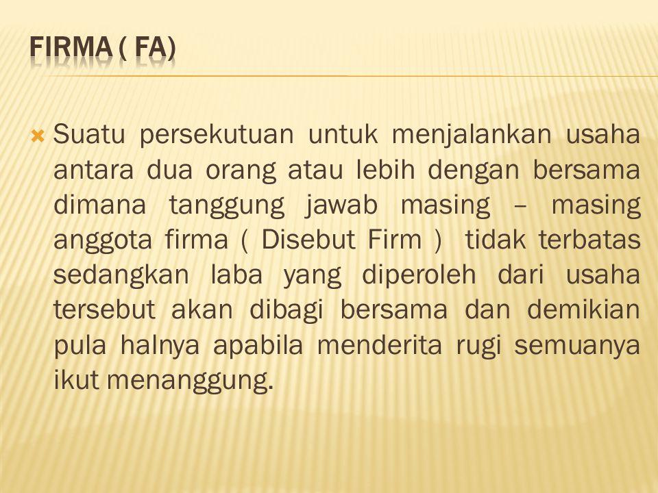 Firma ( FA)