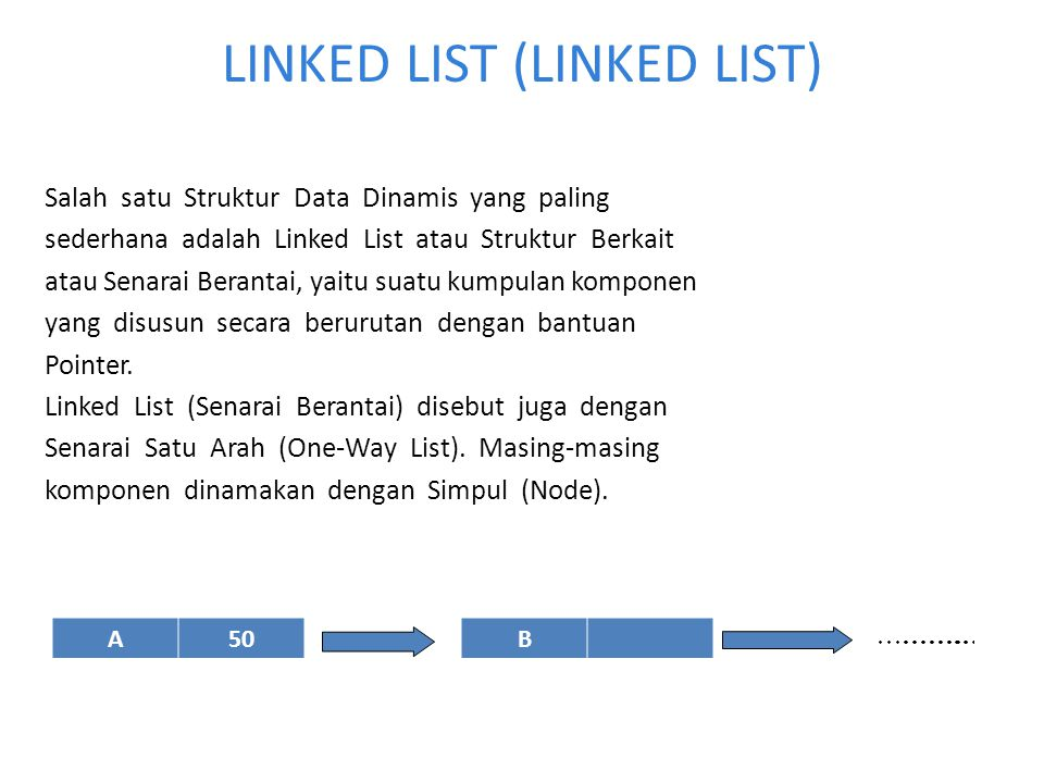 LINKED LIST (LINKED LIST)