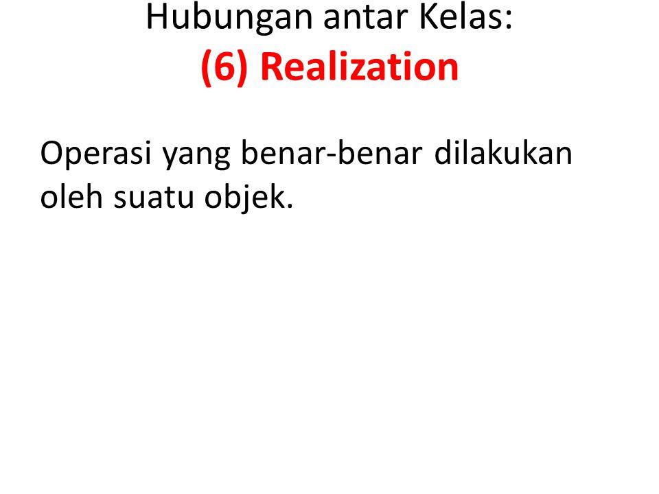 Hubungan antar Kelas: (6) Realization