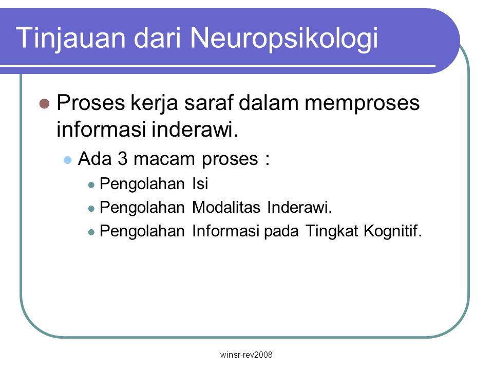 Tinjauan dari Neuropsikologi