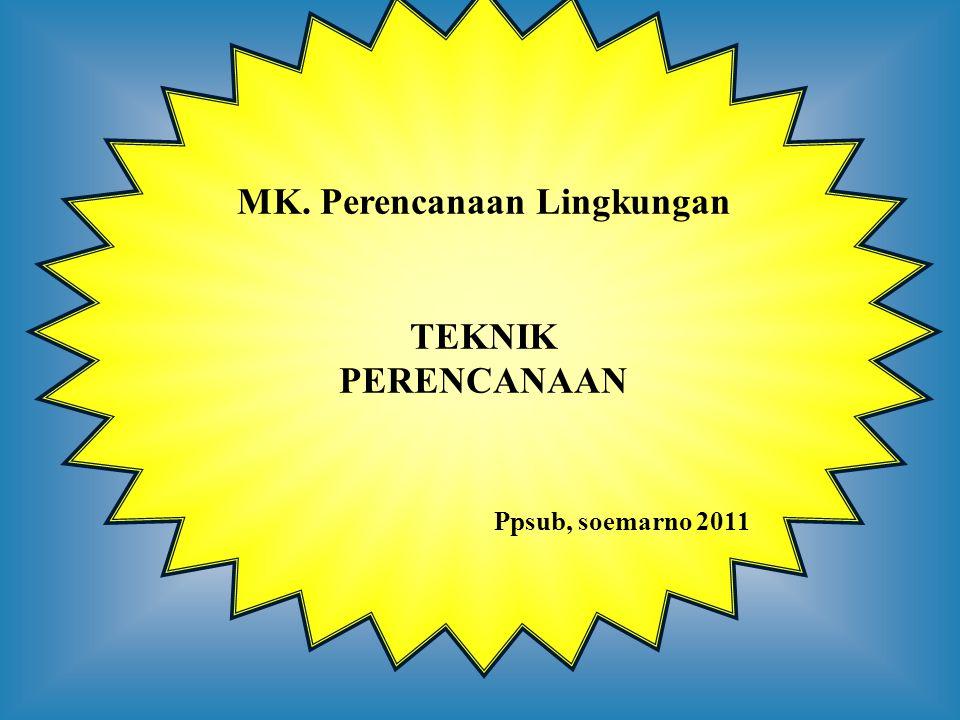 MK. Perencanaan Lingkungan