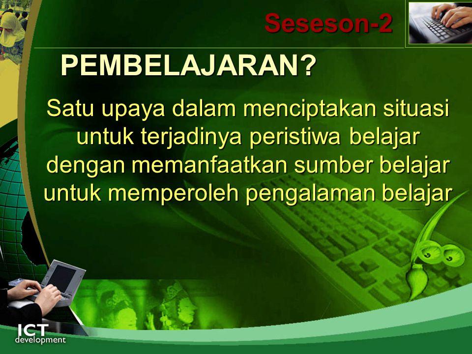 PEMBELAJARAN Seseson-2