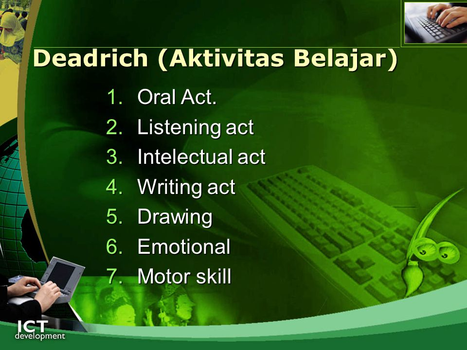 Deadrich (Aktivitas Belajar)