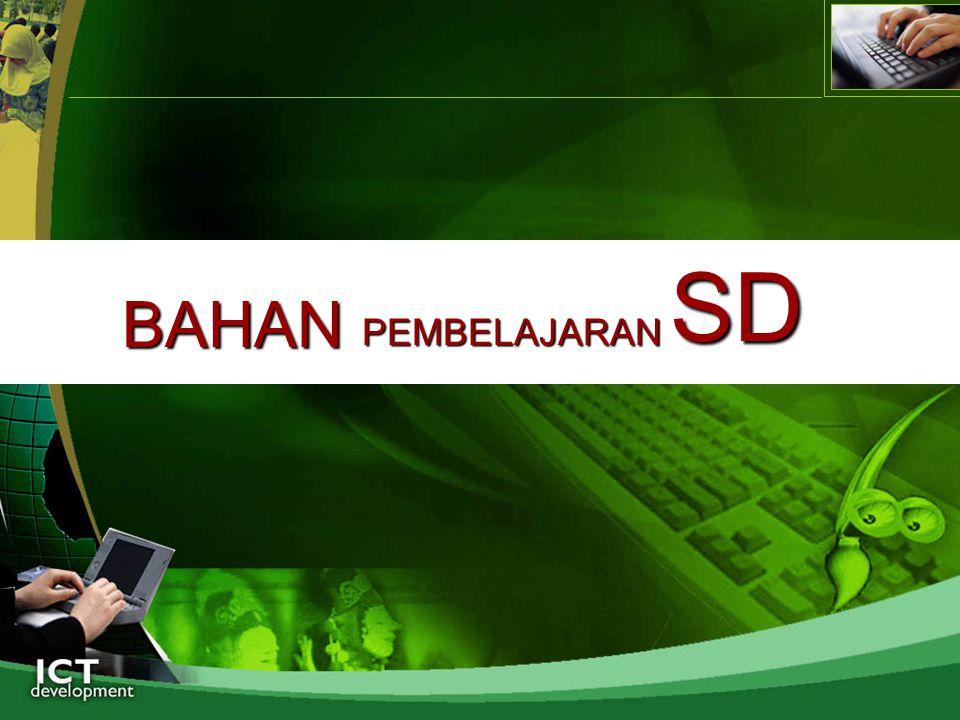 SD BAHAN PEMBELAJARAN