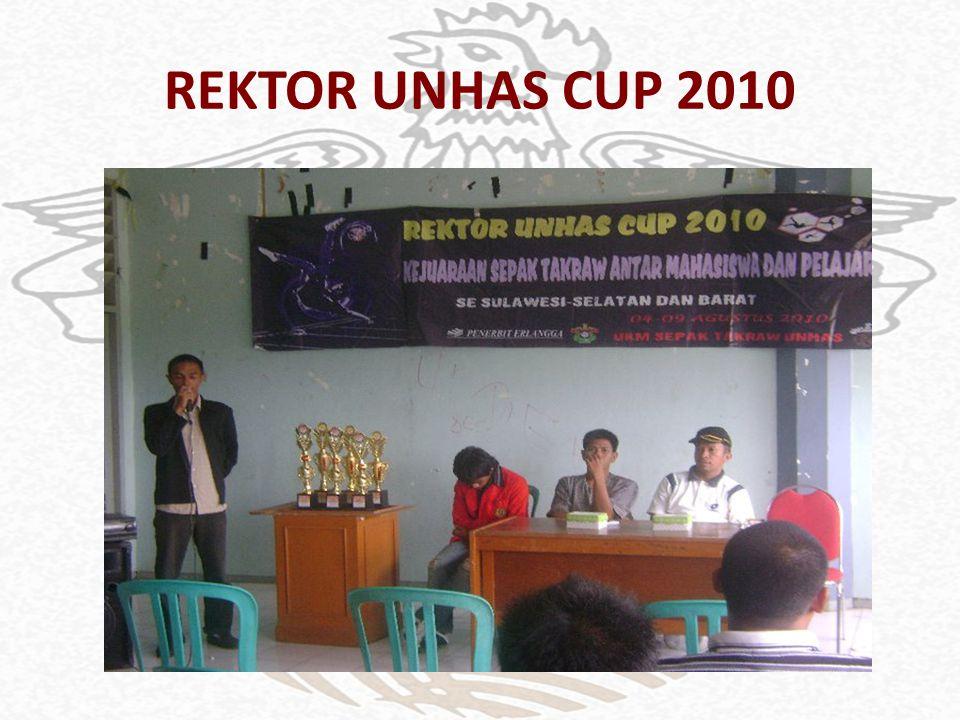 REKTOR UNHAS CUP 2010