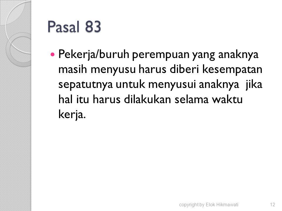 Pasal 83