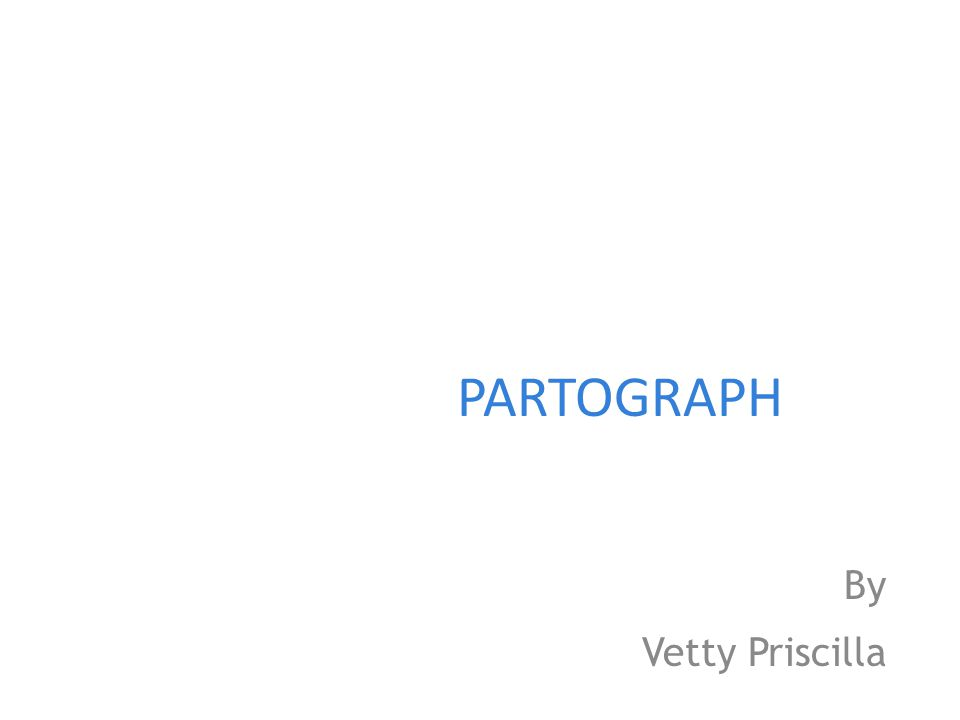 PARTOGRAPH By Vetty Priscilla