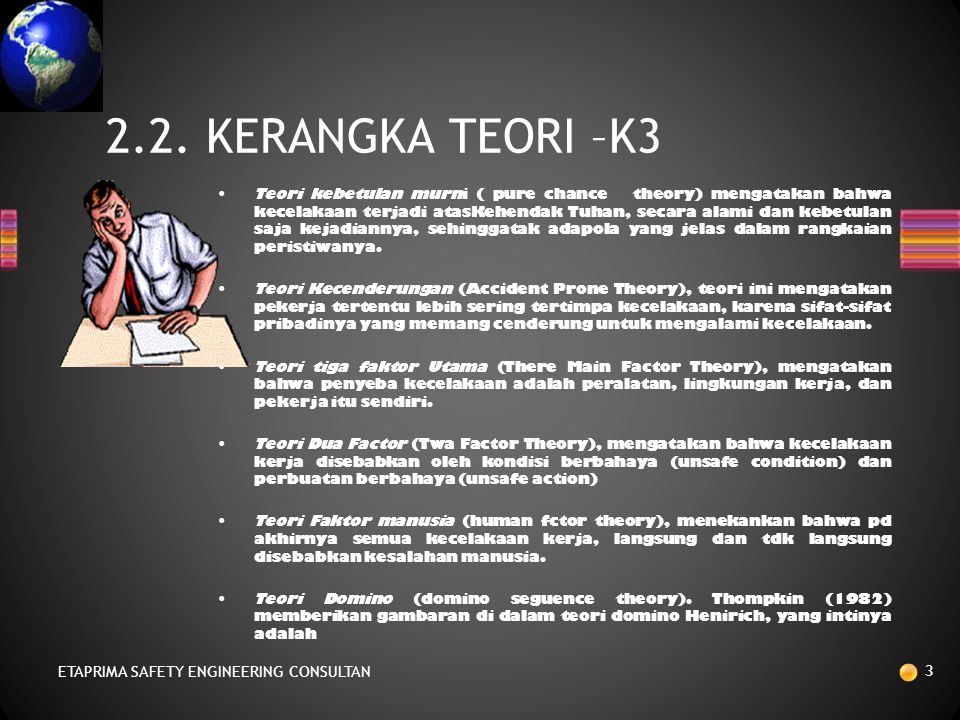 2.2. KERANGKA TEORI –K3 ETAPRIMA SAFETY ENGINEERING CONSULTAN