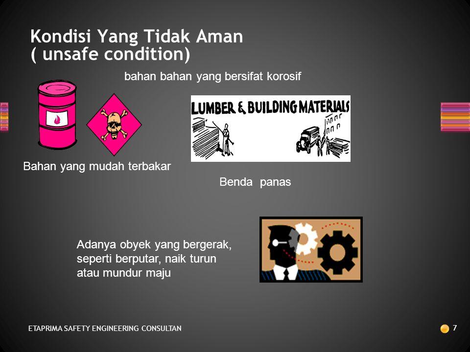 Kondisi Yang Tidak Aman ( unsafe condition)