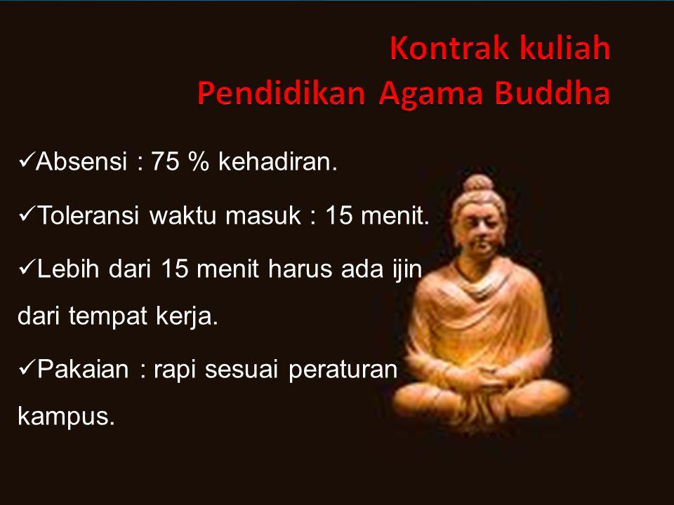 Kontrak kuliah Pendidikan Agama Buddha