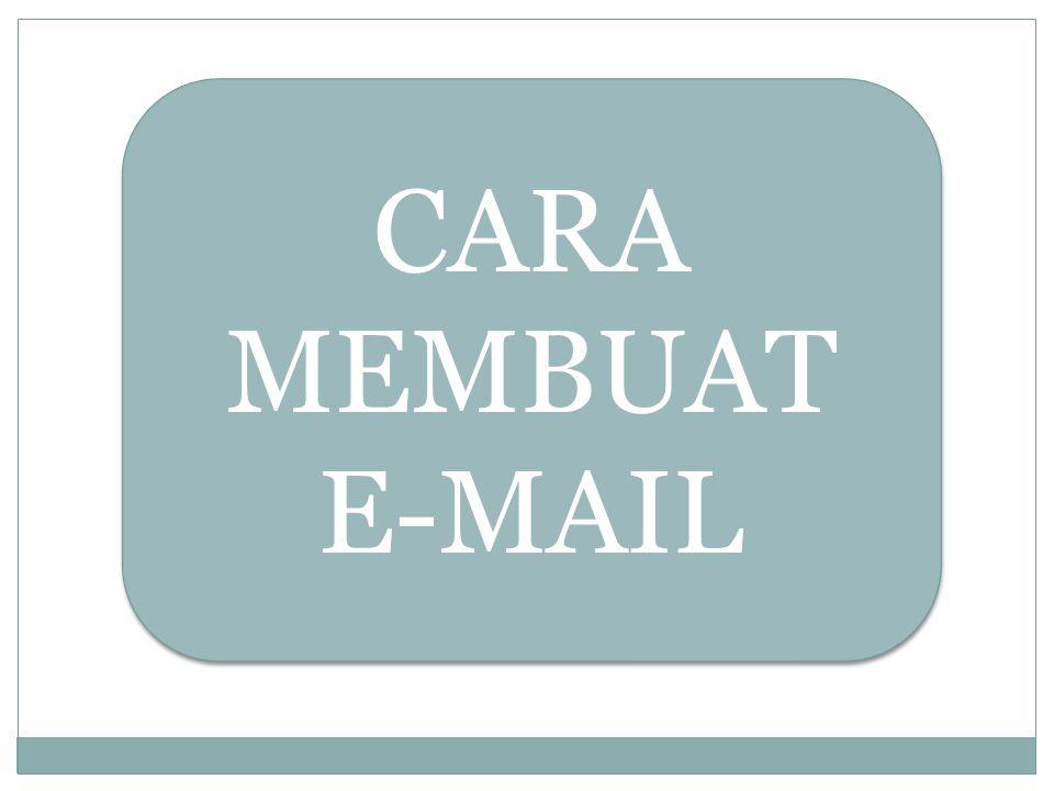 CARA MEMBUAT E-MAIL
