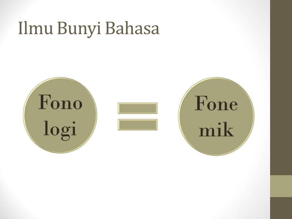 Ilmu Bunyi Bahasa Fonologi Fonemik