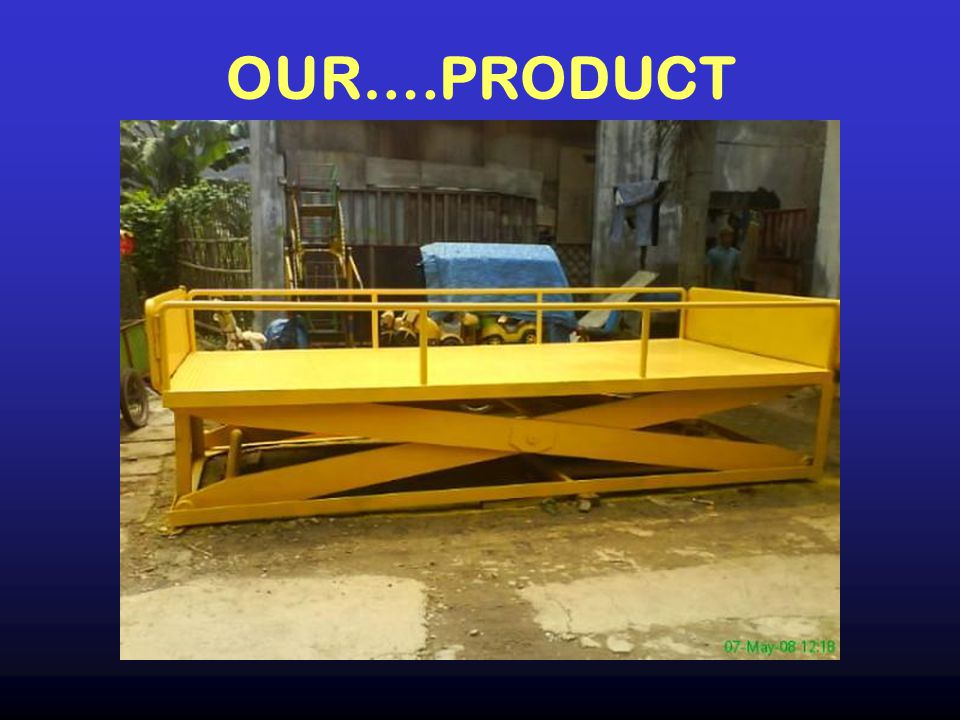 OUR….PRODUCT