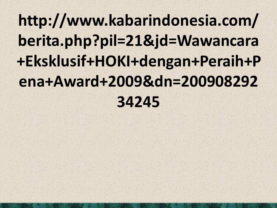 http://www. kabarindonesia. com/berita. php