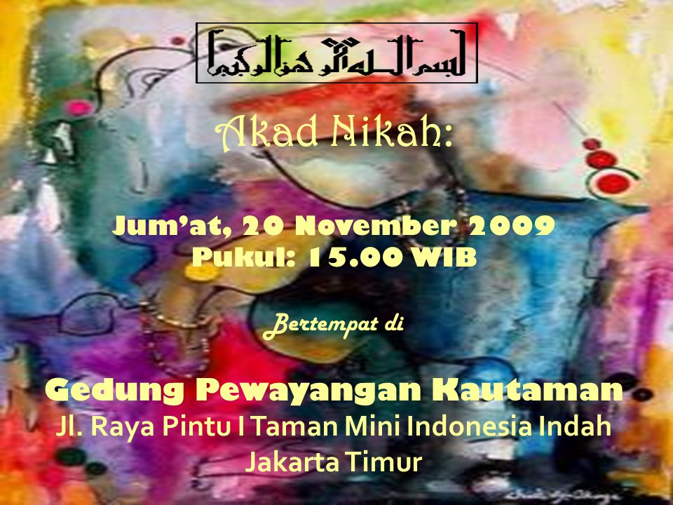 Jl. Raya Pintu I Taman Mini Indonesia Indah