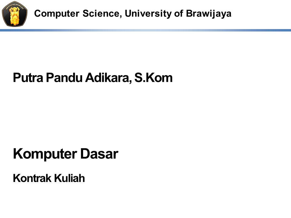 Komputer Dasar Kontrak Kuliah