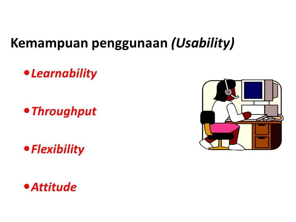 Kemampuan penggunaan (Usability)