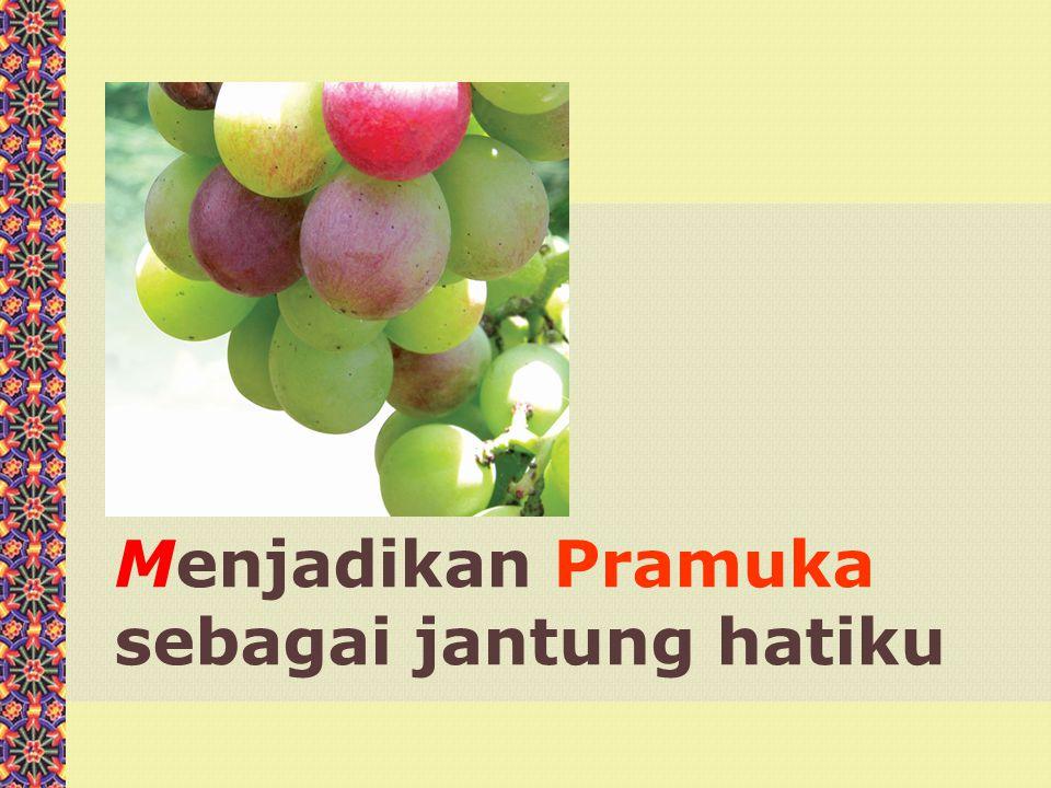 Menjadikan Pramuka sebagai jantung hatiku