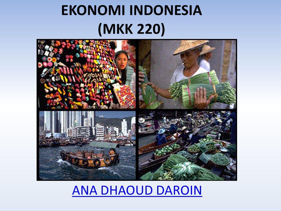 EKONOMI INDONESIA (MKK 220)