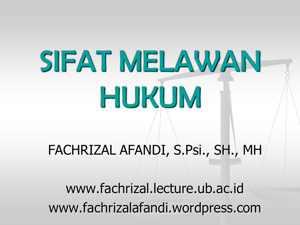 FACHRIZAL AFANDI, S.Psi., SH., MH