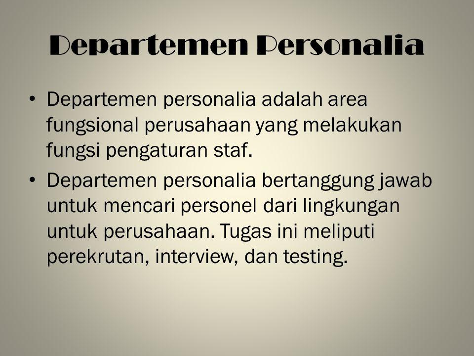 Departemen Personalia