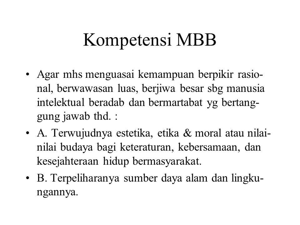 Kompetensi MBB