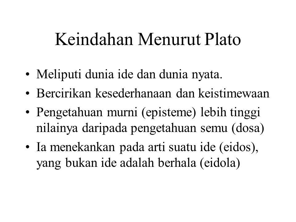 Keindahan Menurut Plato