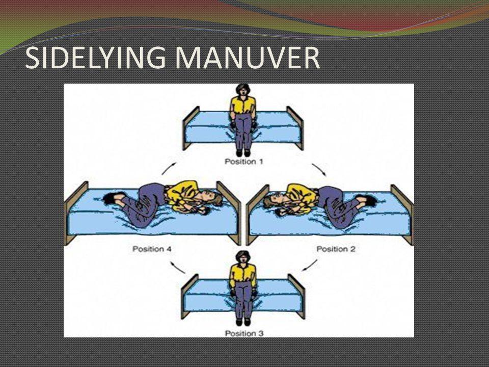 SIDELYING MANUVER