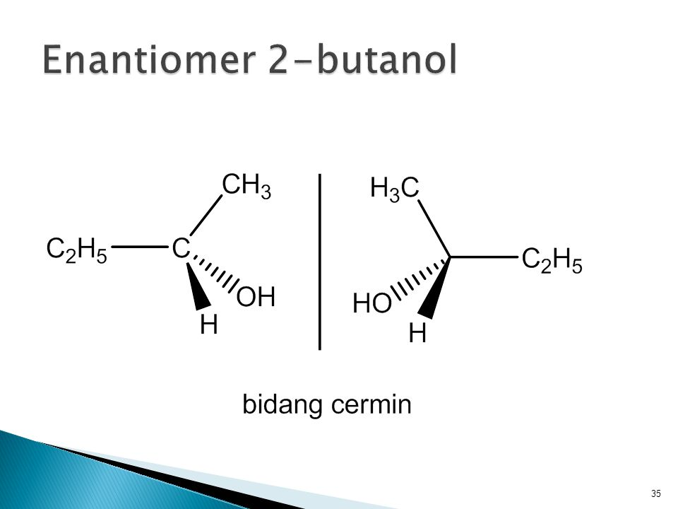 Enantiomer 2-butanol