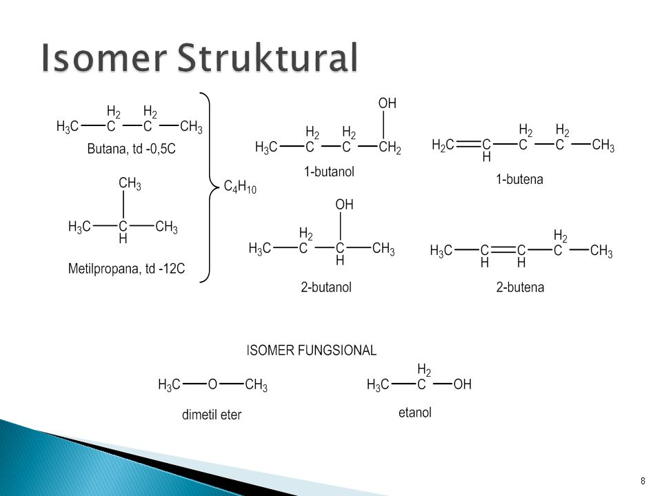 Isomer Struktural