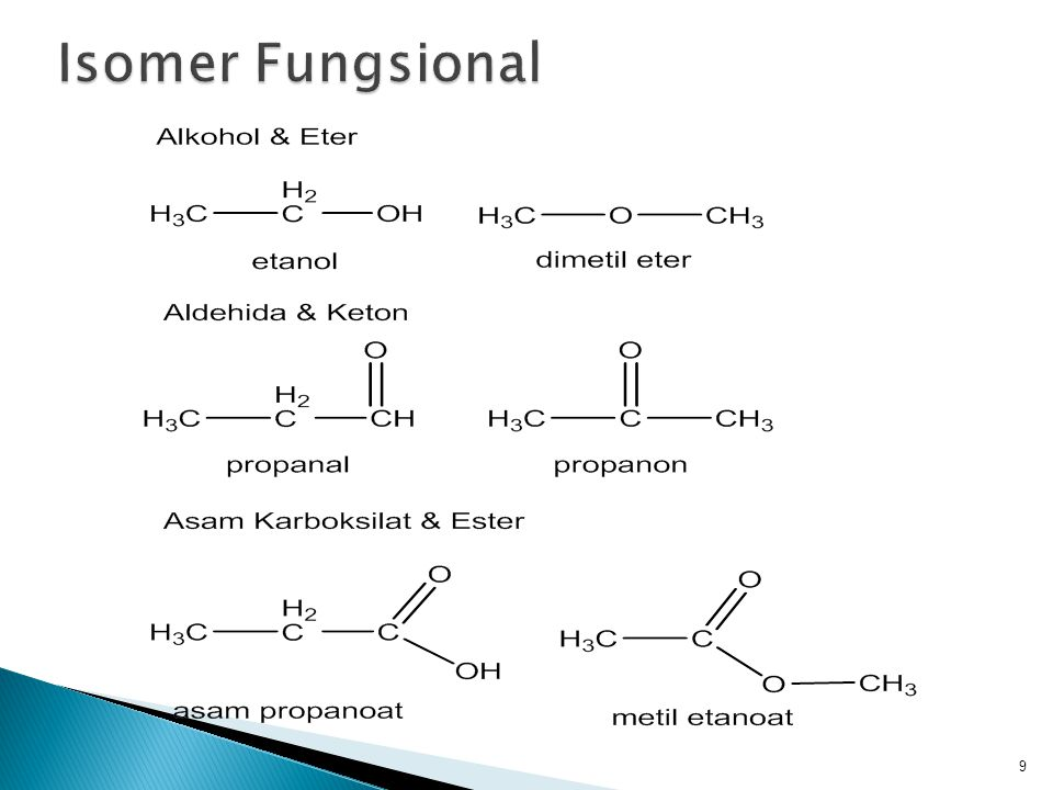 Isomer Fungsional