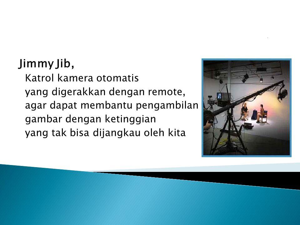 Jimmy Jib, Katrol kamera otomatis yang digerakkan dengan remote,