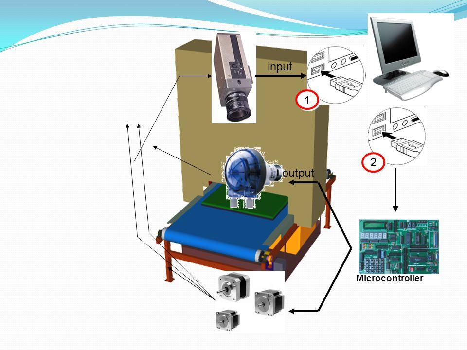 input 1 2 output Microcontroller