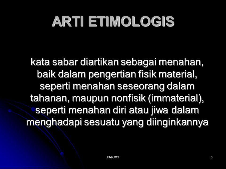 ARTI ETIMOLOGIS