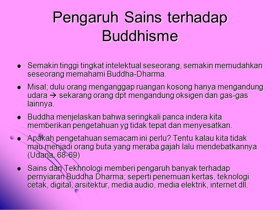 Pengaruh Sains terhadap Buddhisme