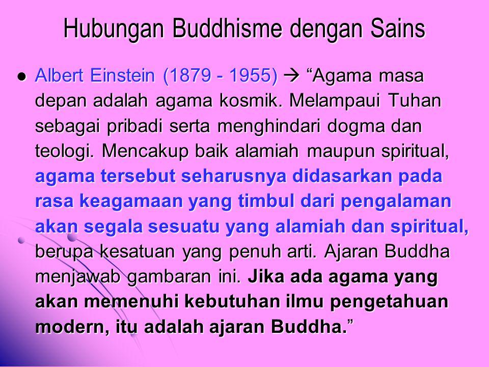 Hubungan Buddhisme dengan Sains
