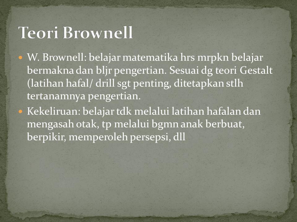 Teori Brownell