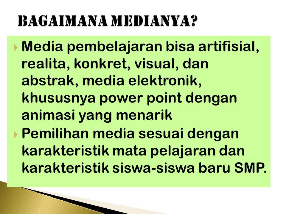 bagaimana MEDIANYA