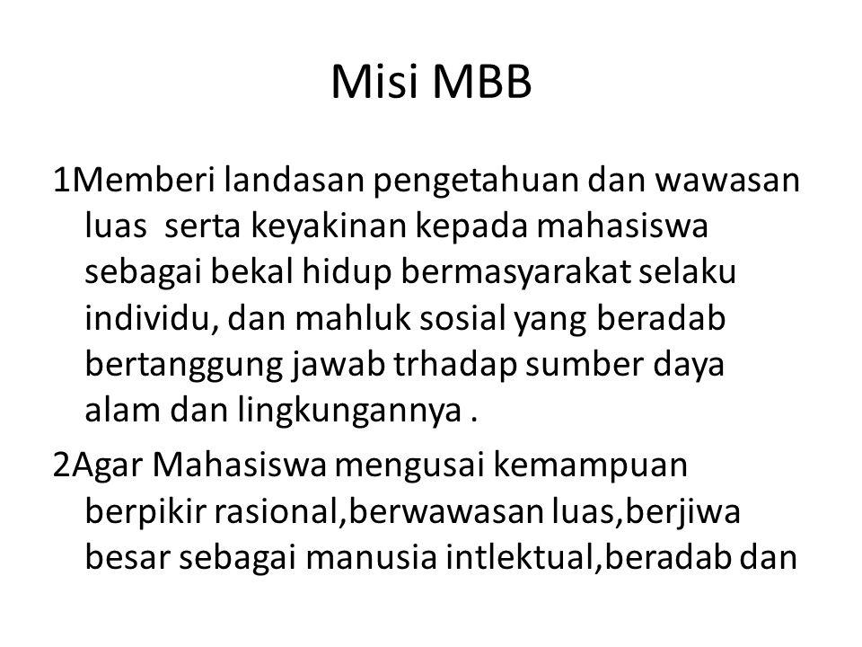 Misi MBB