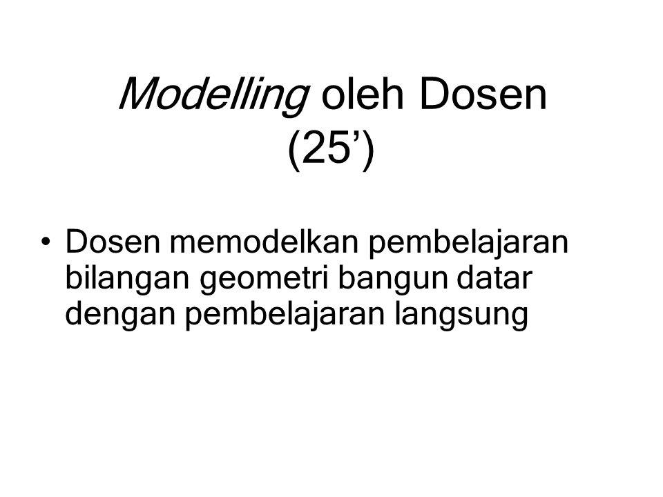 Modelling oleh Dosen (25')