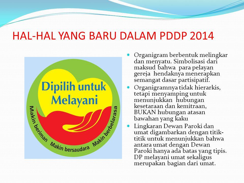 HAL-HAL YANG BARU DALAM PDDP 2014