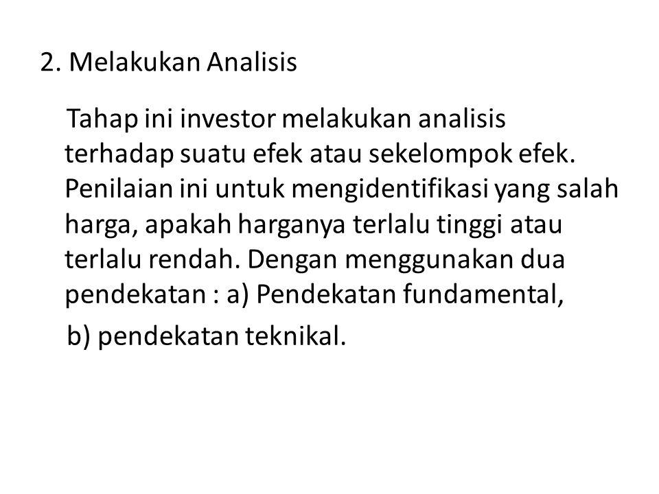 2. Melakukan Analisis