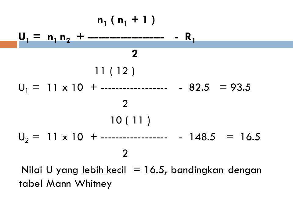 U1 = n1 n2 + --------------------- - R1 2 11 ( 12 )