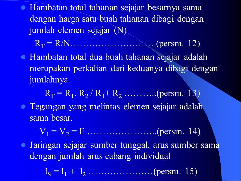 IS = I1 + I2 …………………(persm. 15)