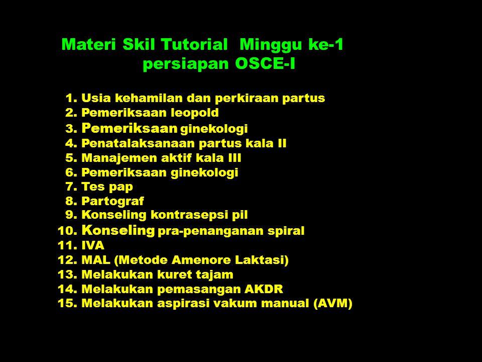 Materi Skil Tutorial Minggu ke-1