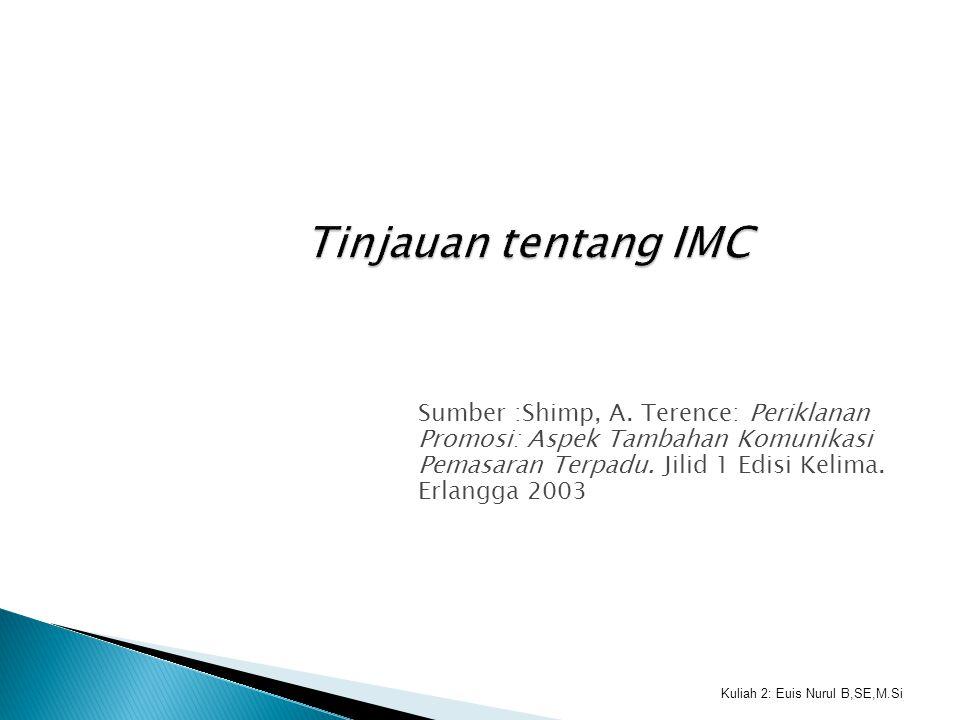 Tinjauan tentang IMC